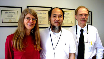 Master Shen Wu, Dr.Hardley and his wlife