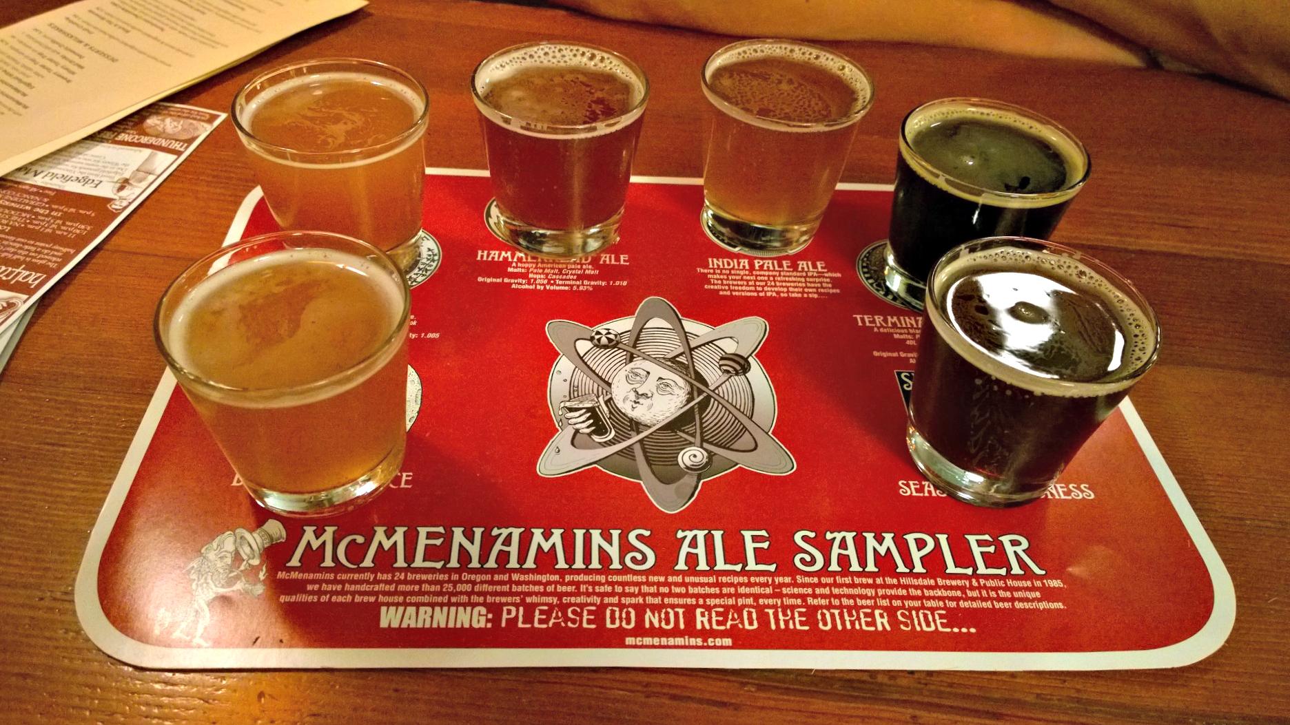 beer sampler edgefield