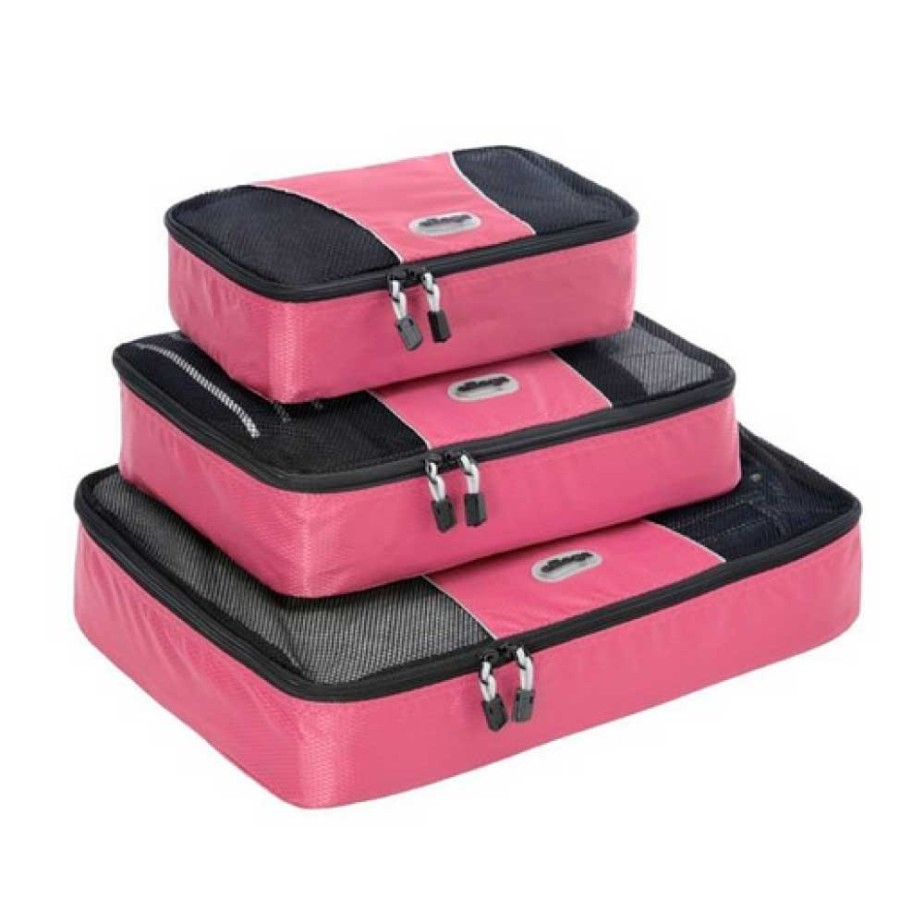 packing cubes pink