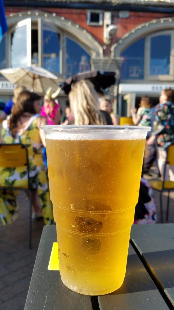 Cider at Brighton Beach