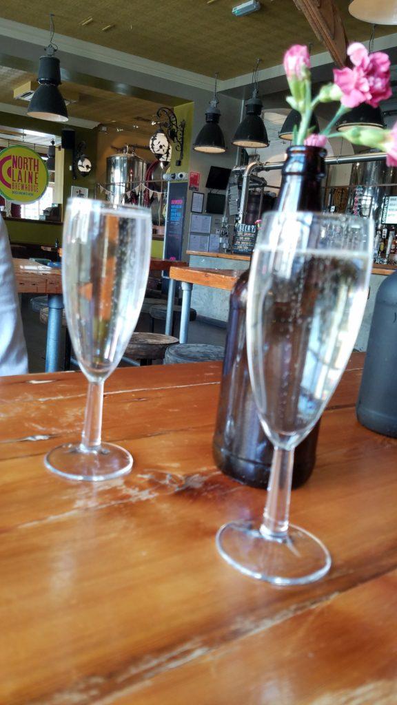 Bubbles at North Laine