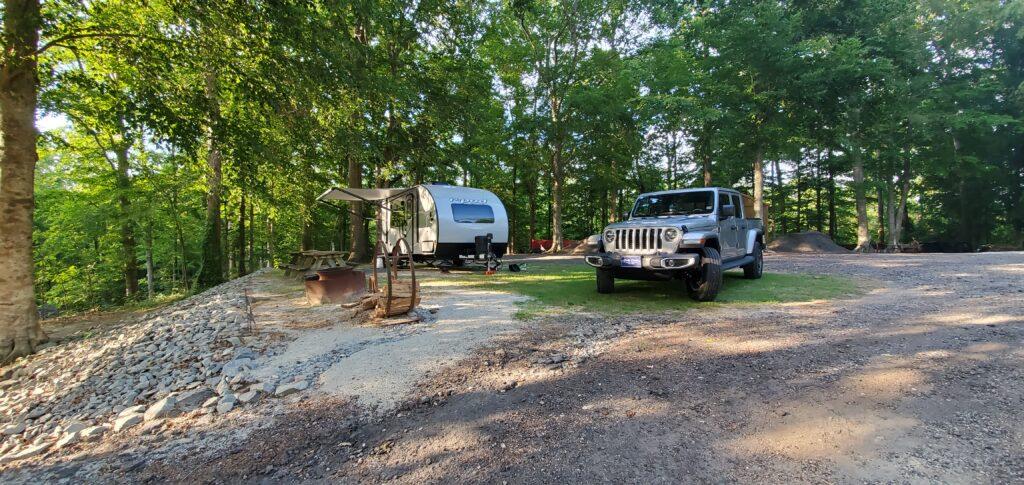 turkey quarter campground site 15