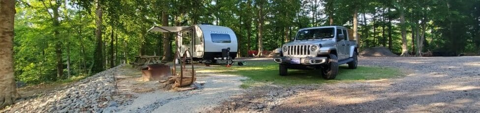 Formerly airplanes and hotels, now a travel trailer and boondocking.