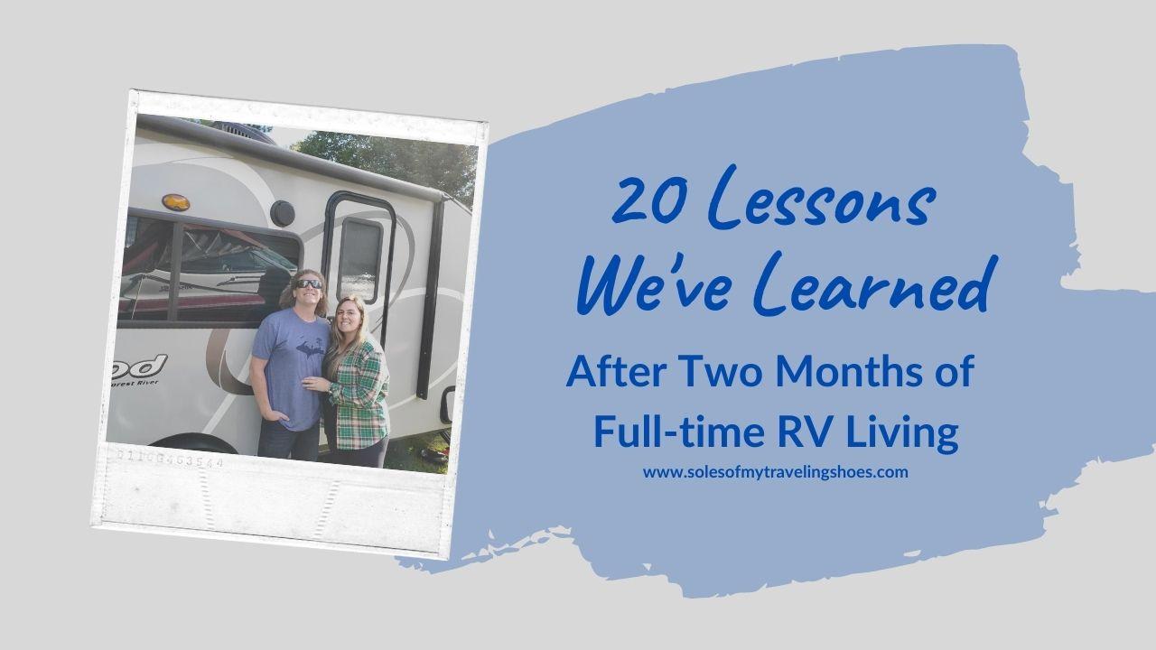 lessons learned full time rv living