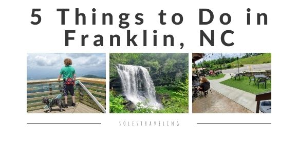 five things to do franklin nc