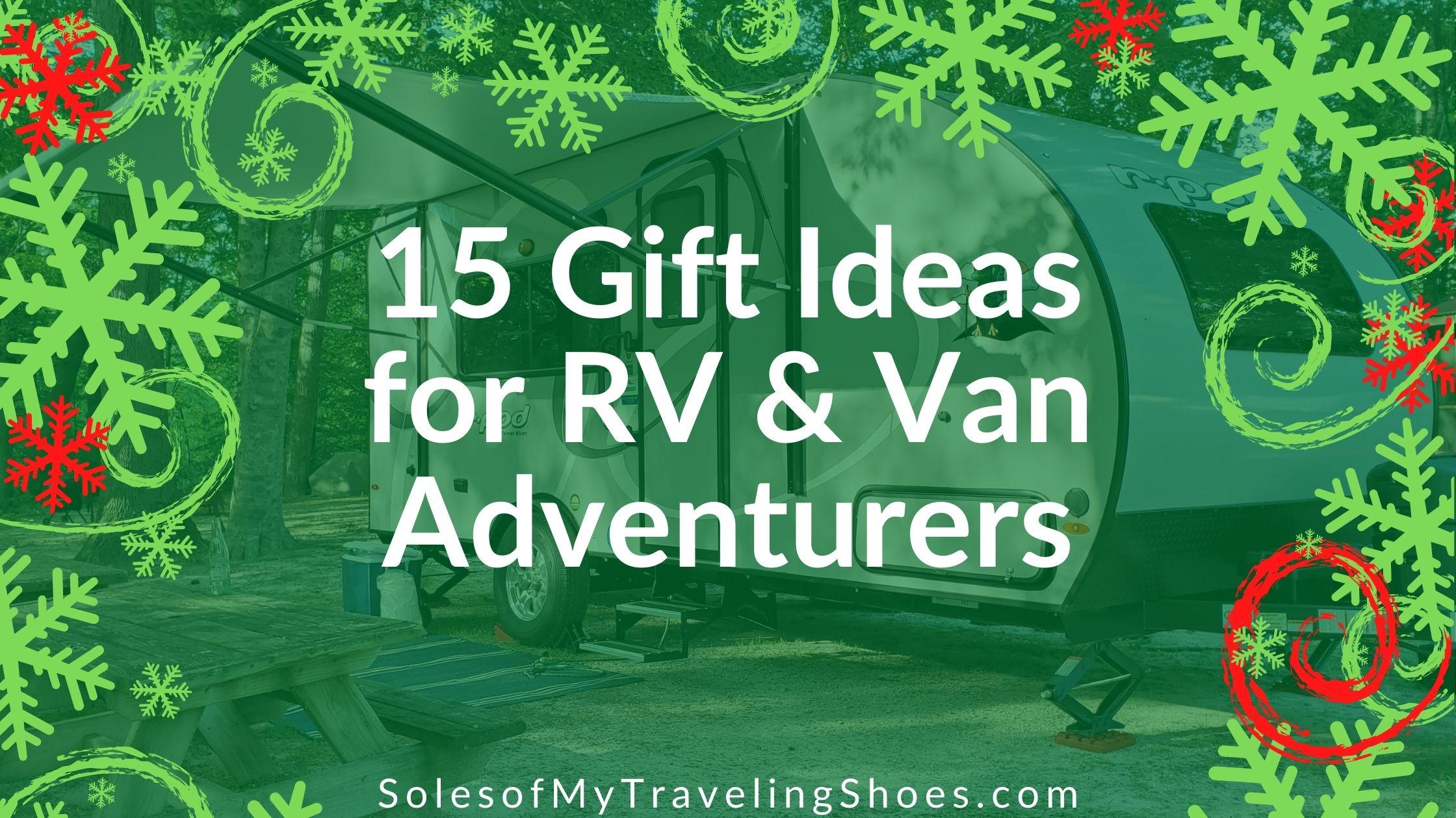 gift ideas for RVlife Vanlife
