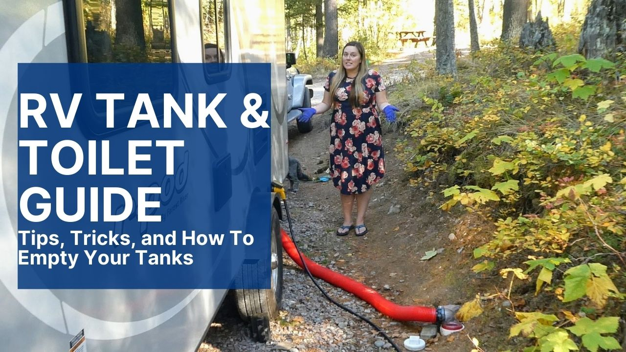 guide to rv tanks and toilets