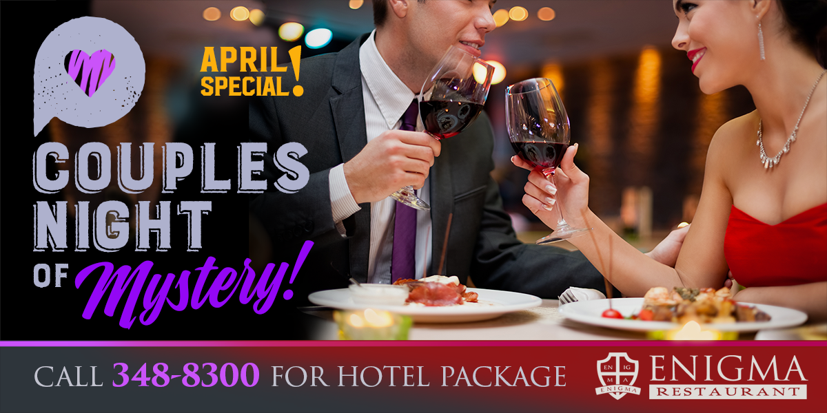 A Couples Night of Mystery! (April Only)