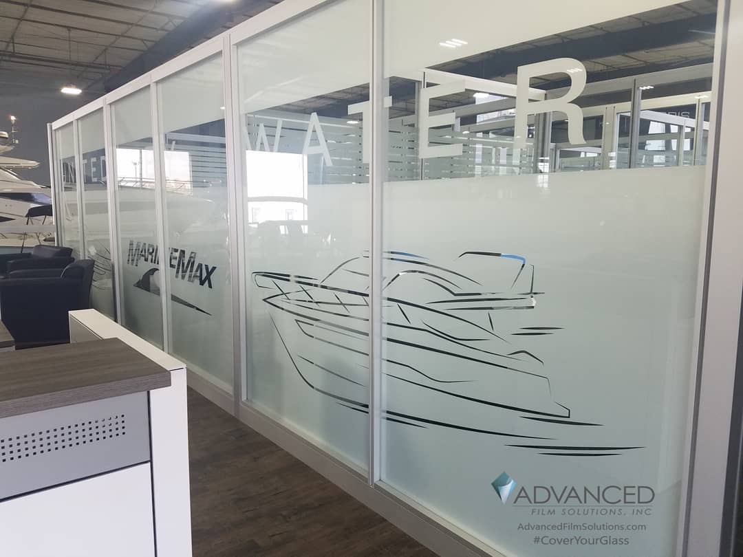 Daytime Privacy Window Film, Tampa Advanced Film Solutions