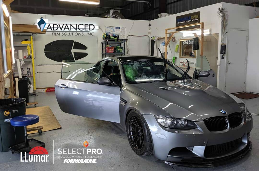 Tampa Car Tinting Experts: Advanced Film Solutions LLumar SelectPro FormulaOne