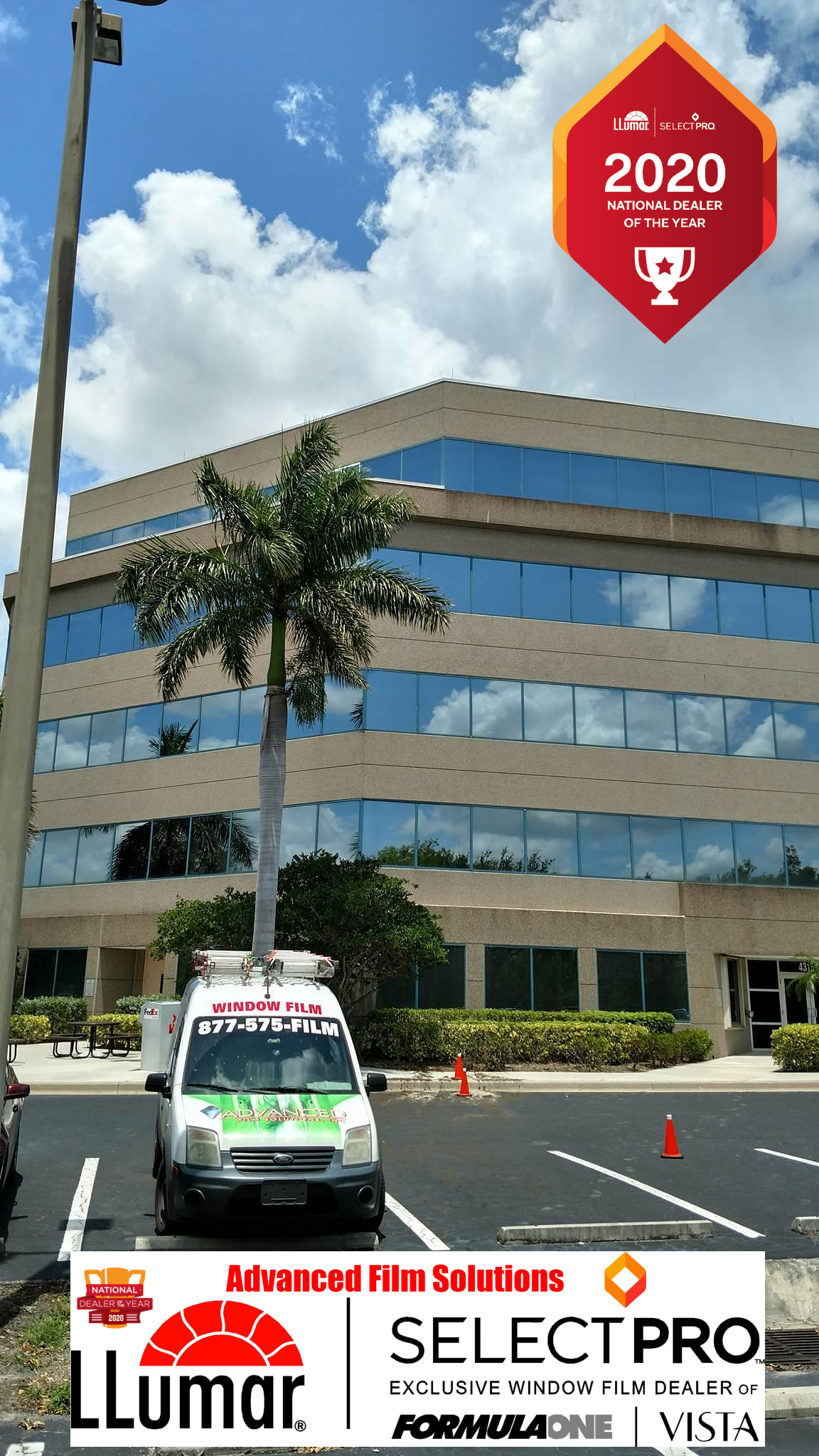 Fight Glare & Extreme Tampa Heat: Advanced Film Solutions, Window Tinting