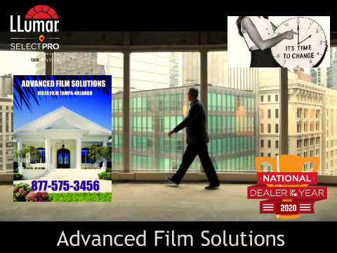 Tampa Shatter Protection Glass Window Film