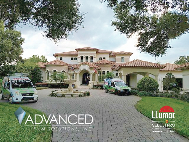Home & Office Window Film Covering All Tampa Bay Region