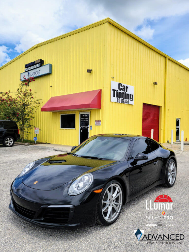 Where Tampa Gets Cars Tinted, Advanced Film Solutions