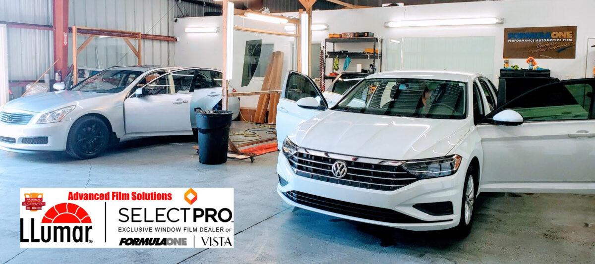 Tampa LLumar SelectPro Stratos, Heat Blocking Car Tinting