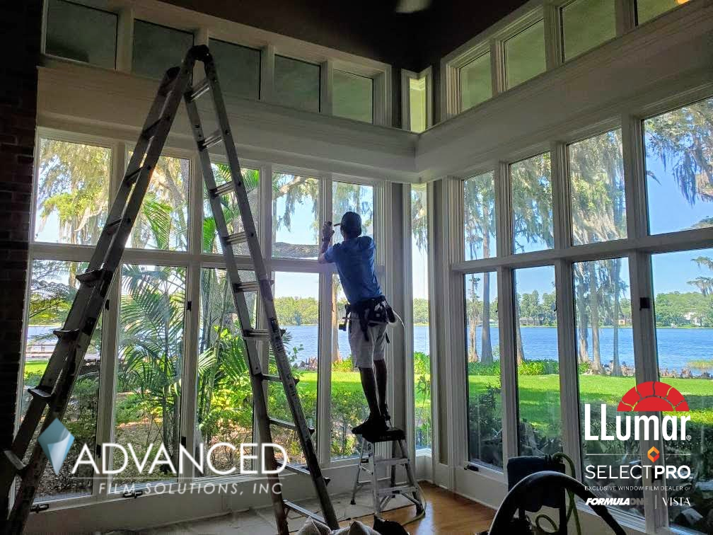 Tampa Bay, Orlando LLumar Home Shatter Security Window Film