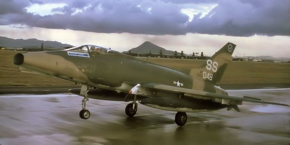 F-100D, 56-3048 Formation Takeoff
