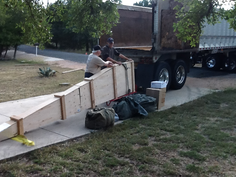 Loading Crated Dart