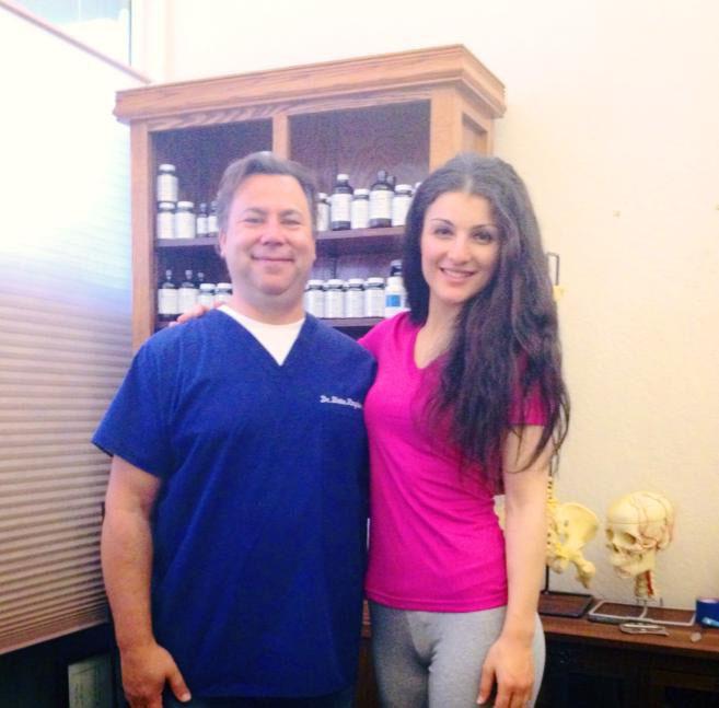 Dr. Kingsbury and Vickie Panetsidou