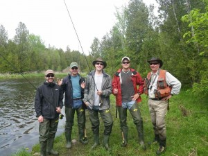 Corpoarate Lesson on the Grand River.