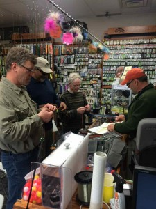 Rick Whorwood Knot tying portion of Fly Fishing Lesson