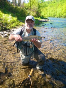 Ted Shand Fly Fishing The Grand River AA