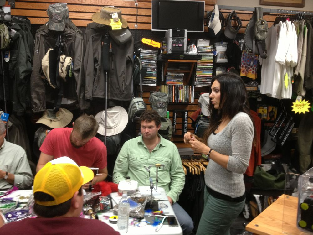 April Vokey's Tube Fly Tying Session
