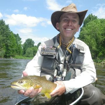 Arron Varga on the Grand River Guiding Image