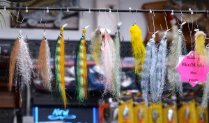 Sample of Bass Pike and Musky Flies