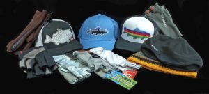Fishing Headwear Hat and Fishing Glove Assortment A
