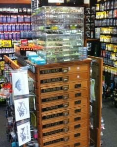 Oak Fly Cabinet