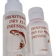 Troutsman dry fly CDC liquid dressing