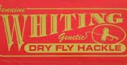 Whiting Fly Hackle Fly Tying Materials