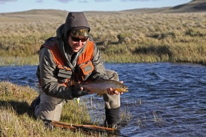 Brian's fish in Chile, Patagonia