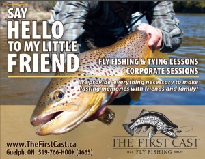 Web Ad Say Hello Brown Trout Fly Fishing