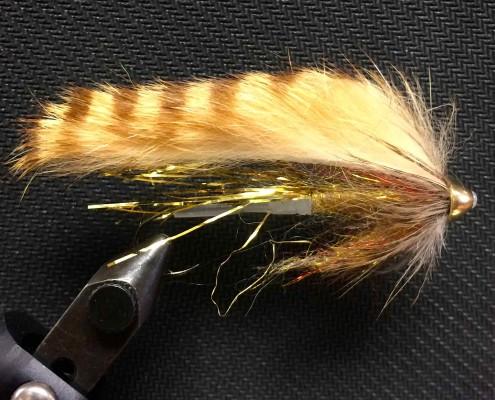Gold Leech Pro Tube and Hemingway Starlite Dubbing B Resized