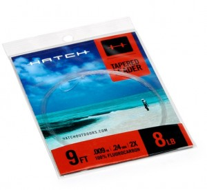 Hatch Fluorocarbon Tapered Leaders