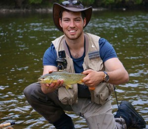 Barmah Hats Grand River Second Year Brown Trout AA