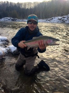Nick Groves Winter Bighead River Meaford Steelhead Resized