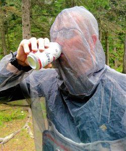 Bug Jacket Drinking Budweiser AA