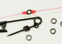 Tippet Rings in Use.