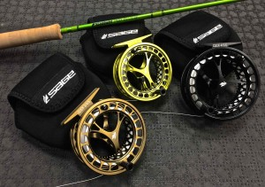 Sage CLICK Series Fly Reels and Sage Mod 590 4 Fly Rod AA