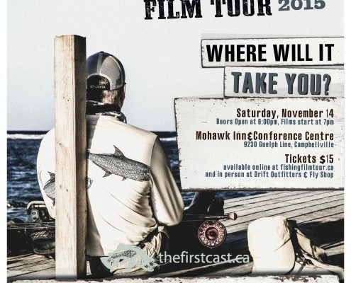 Fly Fishing Film Tour F3T_Poster_MohawkInn_Campbellville AA