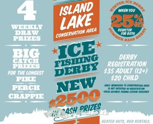Island Lake Ice Fishing Derby 2016