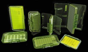 Temple Fork Outfitters Fly Box Assortment.