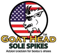 Goat Head Gear Sole Spikes Logo AA