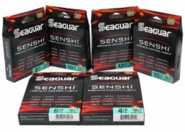 Seaguar Senshi Premium Monofilament in Camo Green