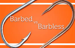 Barbed versus Barbless Hooks