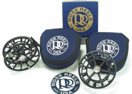 Ross Reels Evolution R Salt Fly Reel and Spare Spool.