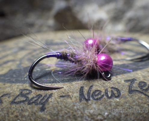 Violet Pheasant Tail Nymph
